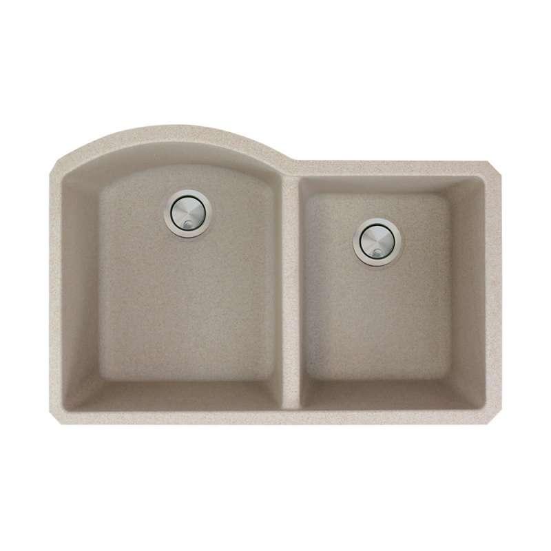 Transolid Aversa Granite 31-in Undermount Kitchen Sink