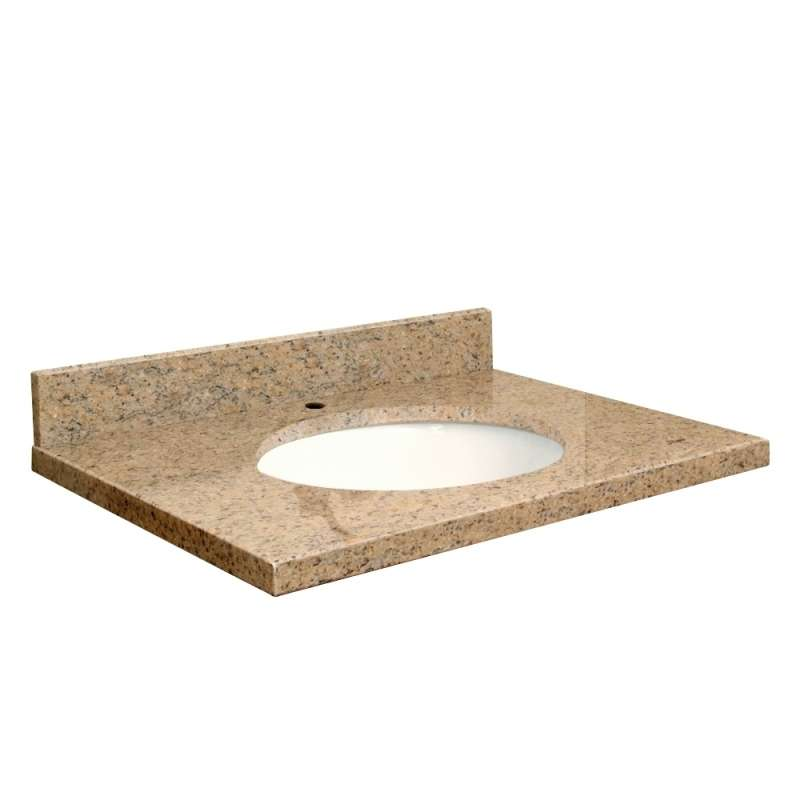 Transolid Granite 43 In X 22 Vanity Top With Eased Edge