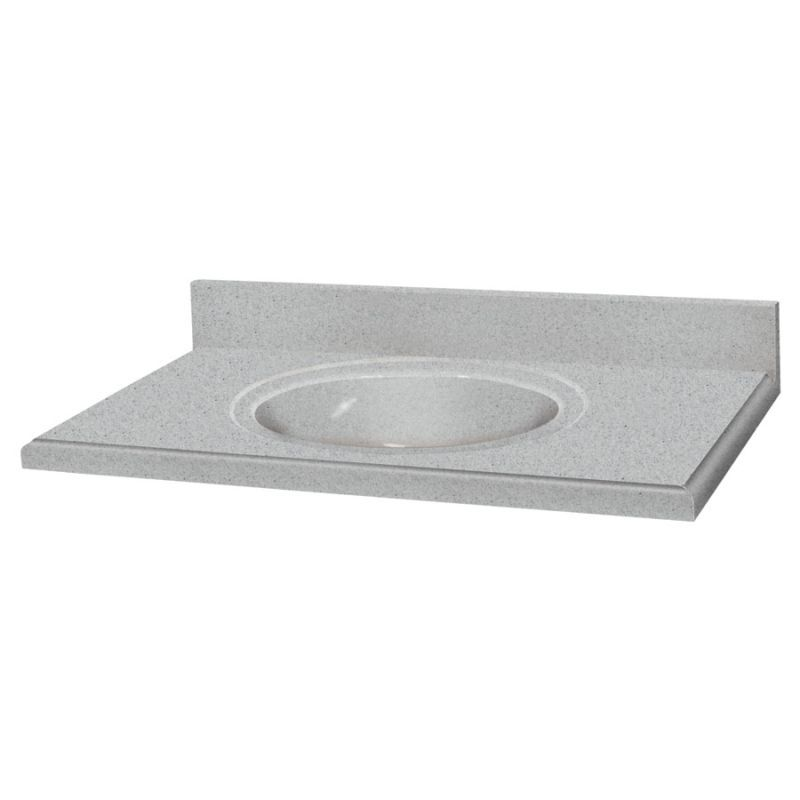 Transolid Decor Solid Surface 37 In X 22 Vanity Top