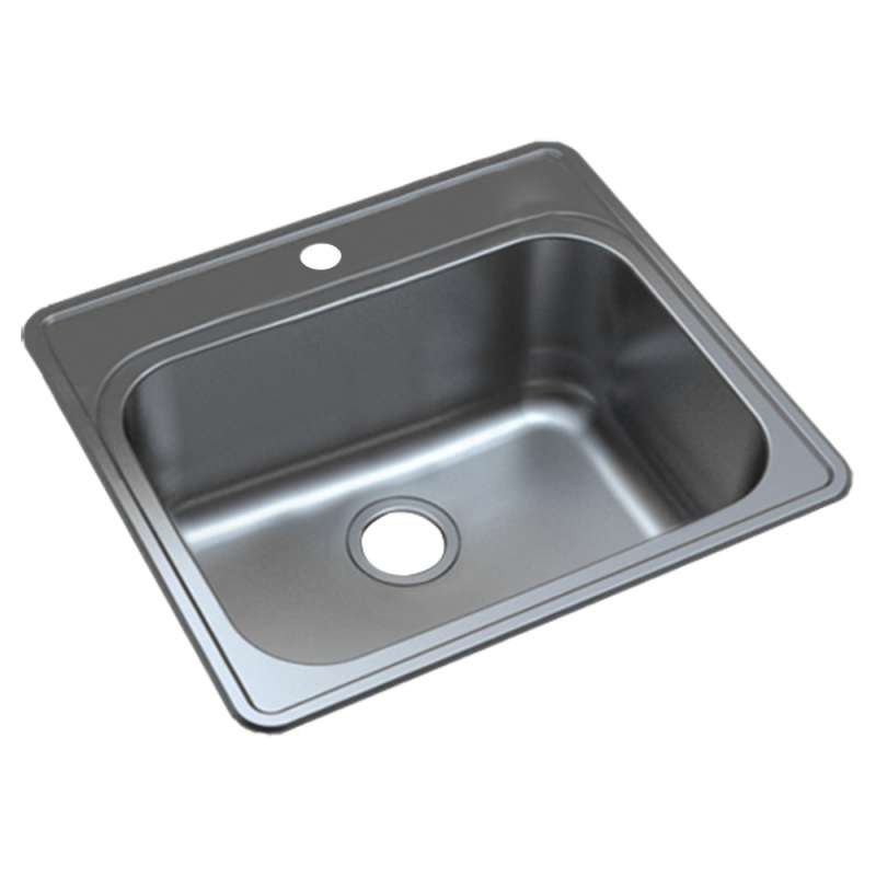 Transolid 25-in X 22-in 16 Gauge Stainless Steel Kitchen Sink - In Multiple Configurations