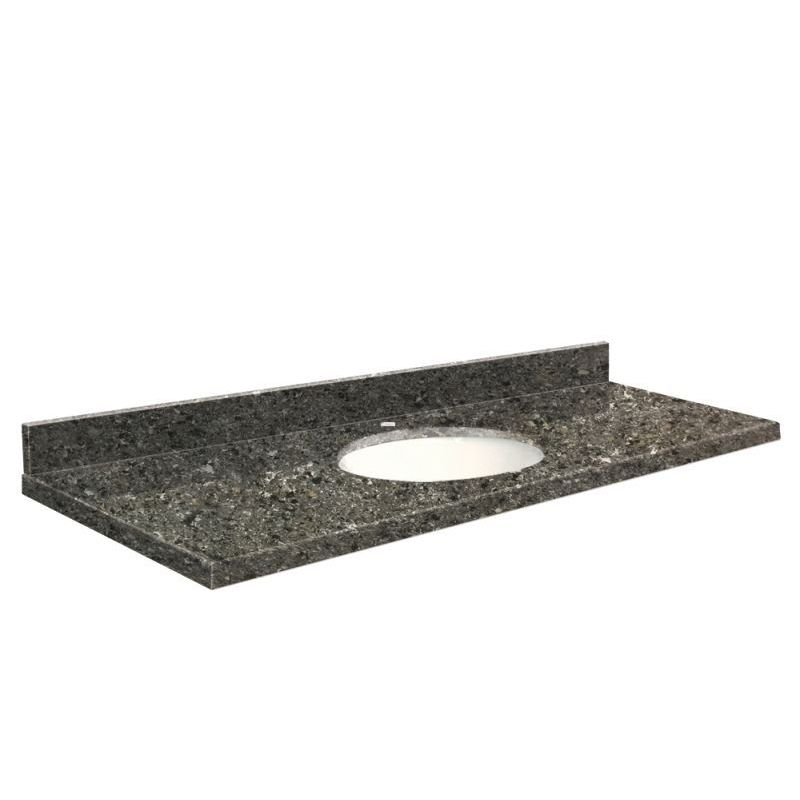 Transolid Quartz 61-in x 22-in Vanity Top with Eased Edge