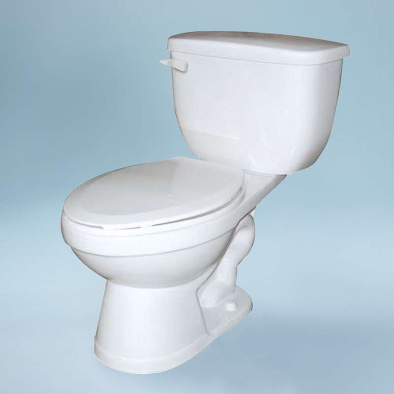 Transolid Madison 2-Piece 1.0 GPF Round Toilet
