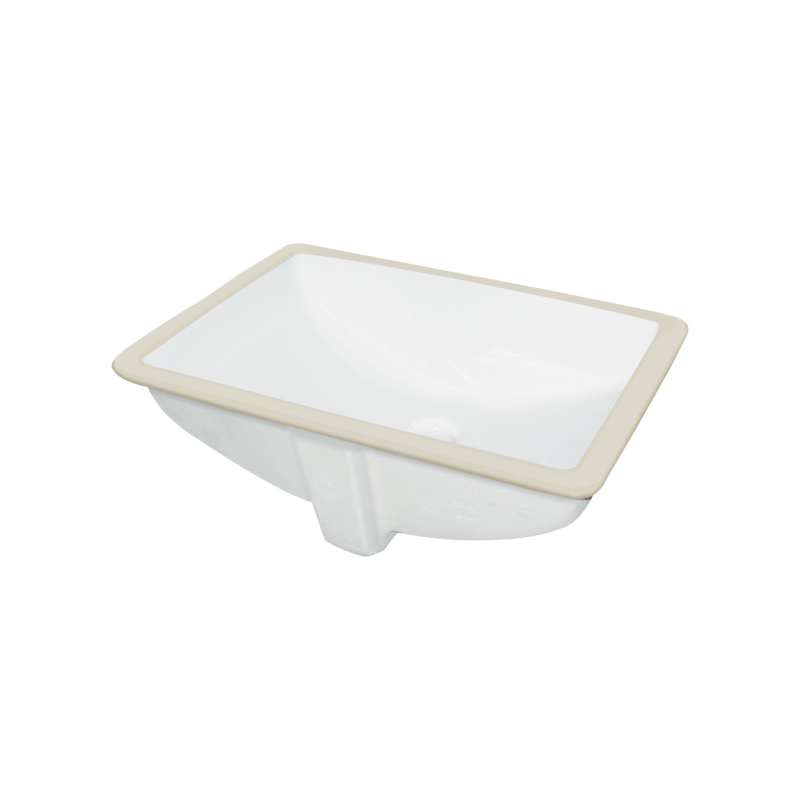 Transolid Harrison Vitreous China 20-in Undermount Lavatory