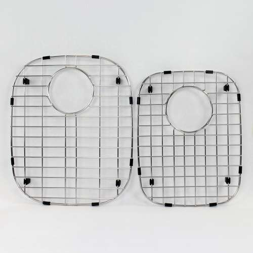 Transolid Stainless Steel 13.39-in. Bottom Sink Grid Set for MUDO32219