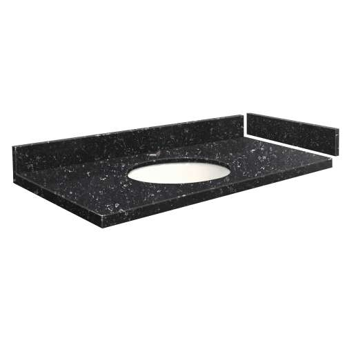 37.25 in. Quartz Vanity Top in Interlude
