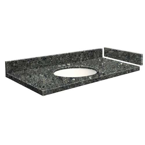 39.5 in. Quartz Vanity Top in Tempest with 8in Centerset