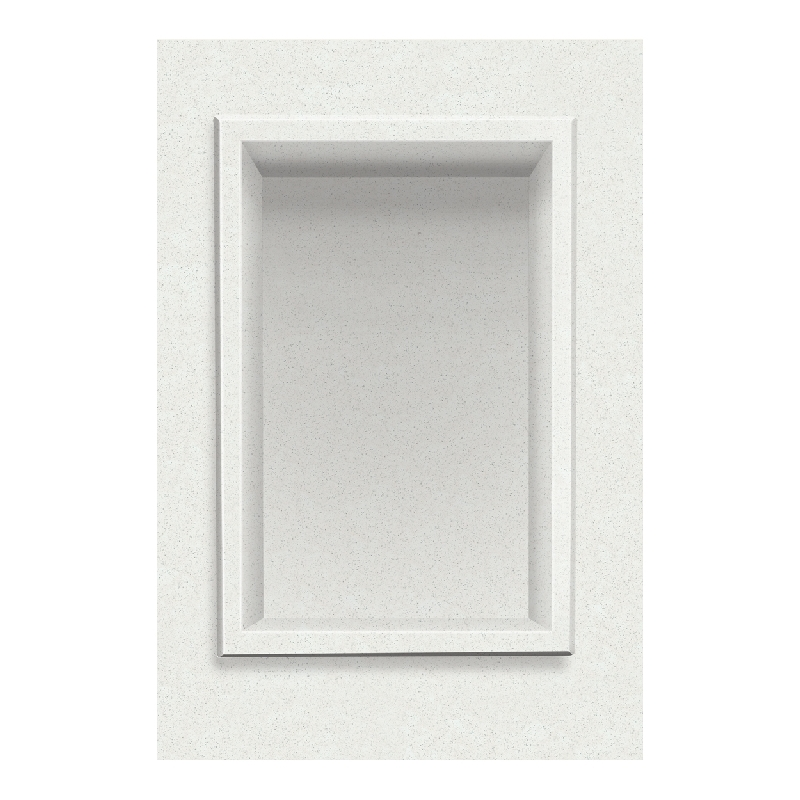 Transolid Decor 7-1/2-In X 11-In Recessed Shampoo Caddy