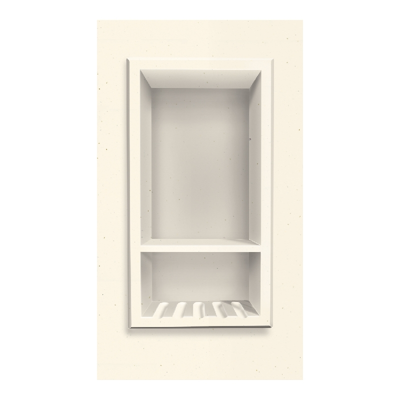 Transolid Decor 7-1/2-In X 15-In Recessed Shampoo Caddy