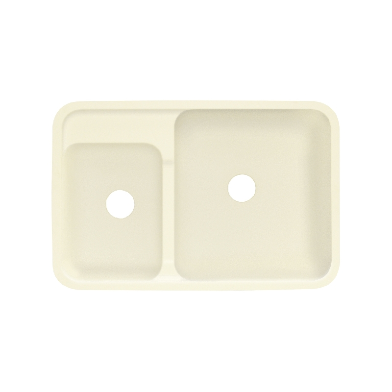 Transolid Augusta Solid Surface 32-in Undermount Kitchen Sink
