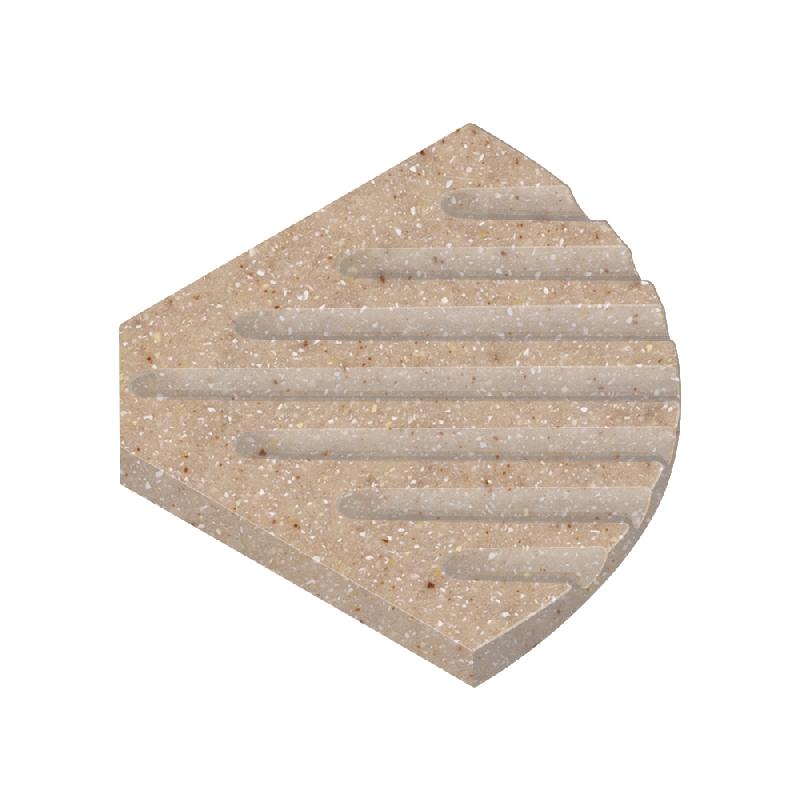Transolid Decor 5-1/2-In Corner Soap Dish