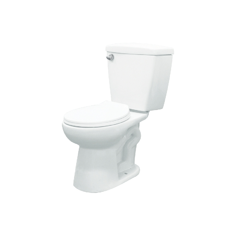 Transolid Harrison ADA 2-Piece 1.6 GPF Round Toilet with Left Trip Lever
