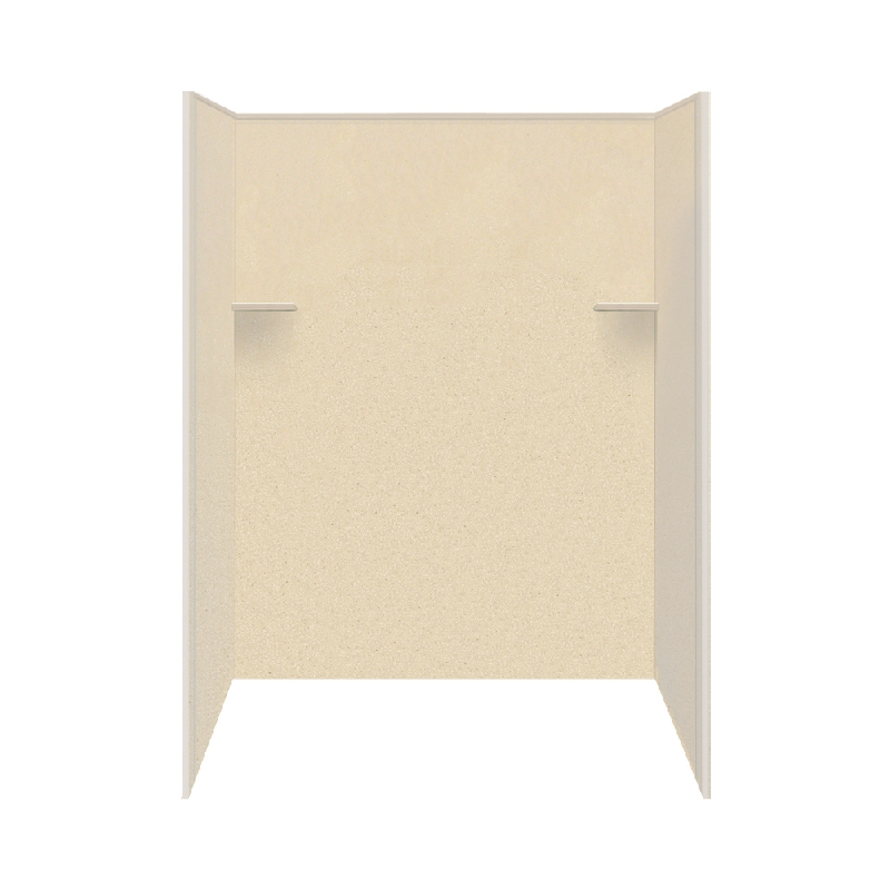 Buy Transolid Studio Solid Surface 60-in x 72-in Shower Wall ...