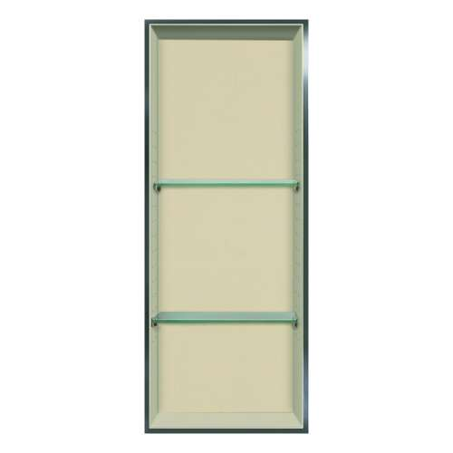 Transolid Studio 34.5-in. Recessed Solid Surface Shower Storage Pod STV23414-SS08