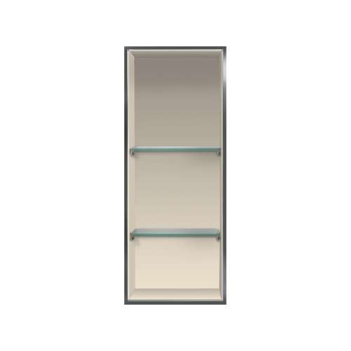 Transolid Expressions 34.5-in. Recessed Expressions Composite Material Shower Storage Pod STV23414-SS38