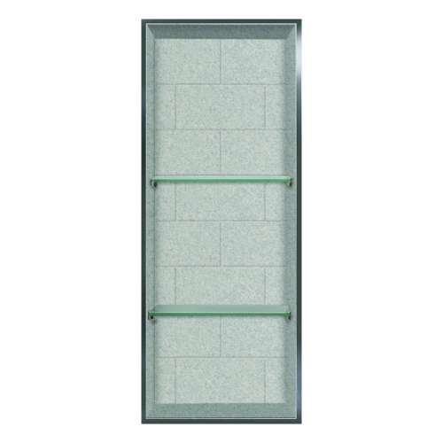Transolid Saramar 34.5-in. Recessed SaraMar Material Shower Storage Pod STV23414-SS27