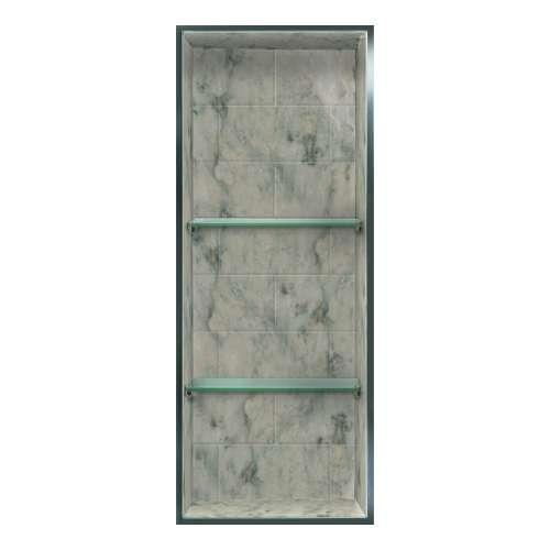 Transolid Saramar 34.5-in. Recessed SaraMar Material Shower Storage Pod STV23414-SS49
