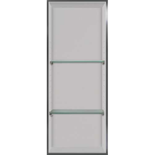 Transolid Studio 34.5-in. Recessed Solid Surface Shower Storage Pod STV23414-SS01