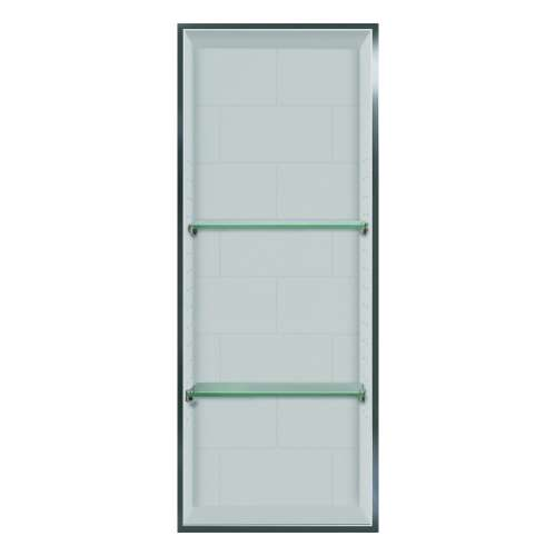 Transolid Saramar 34.5-in. Recessed SaraMar Material Shower Storage Pod - In Multiple Colors STV23414-SS-M1