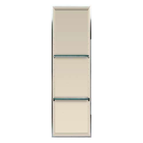 Transolid Expressions 46.5-in. Recessed Expressions Composite Material Shower Storage Pod STV24614-SS38