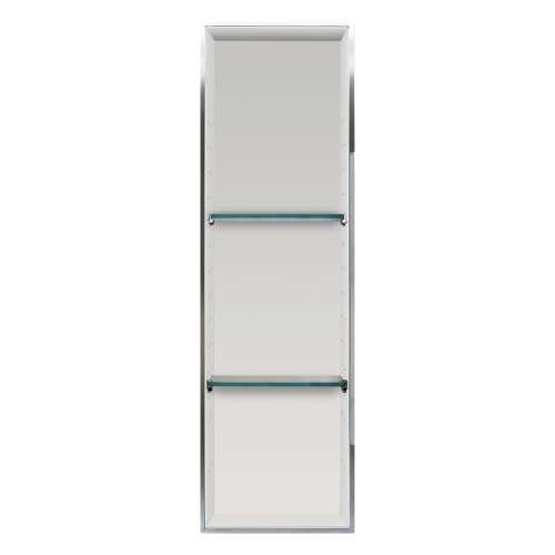 Transolid Expressions 46.5-in. Recessed Expressions Composite Material Shower Storage Pod STV24614-SS39