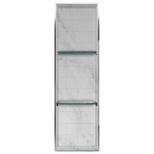 Transolid Saramar 46.5-in. Recessed SaraMar Material Shower Storage Pod STV24614-SS47