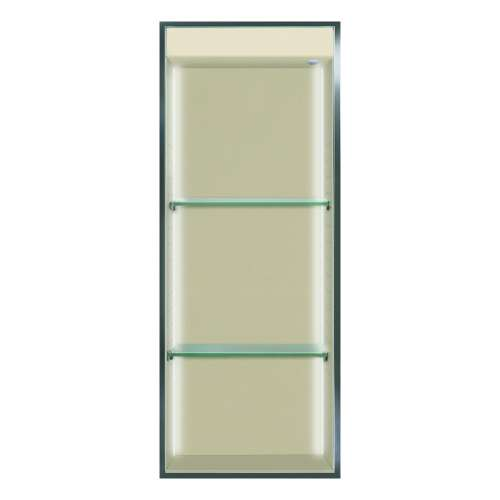 Transolid Studio 34.5-in. Recessed Solid Surface Shower Storage Pod STVL3414-SS08