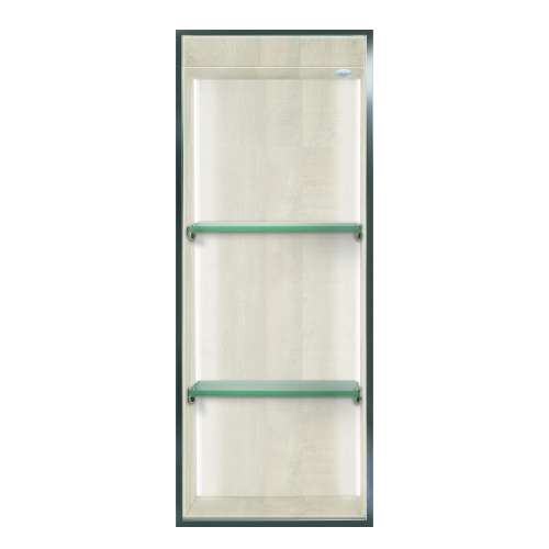 Transolid Expressions 34.5-in. Recessed Expressions Composite Material Shower Storage Pod STVL3414-SS45