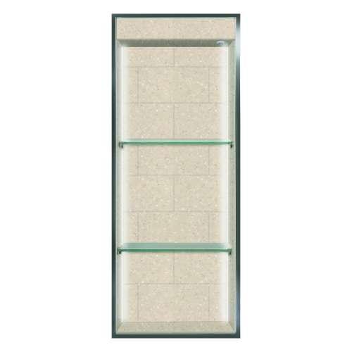 Transolid Saramar 34.5-in. Recessed SaraMar Material Shower Storage Pod STVL3414-SS28