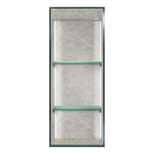 Transolid Expressions 34.5-in. Recessed Expressions Composite Material Shower Storage Pod STVL3414-SS42
