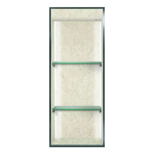 Transolid Expressions 34.5-in. Recessed Expressions Composite Material Shower Storage Pod STVL3414-SS44