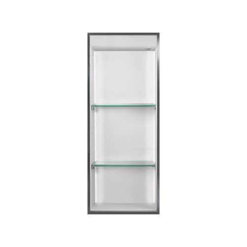 Transolid Studio 34.5-in. Recessed Solid Surface Shower Storage Pod STVL3414-SS01