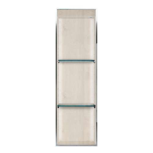 Transolid Expressions 46.5-in. Recessed Expressions Composite Material Shower Storage Pod STVL4614-SS45