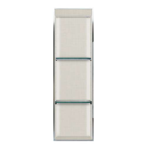 Transolid Expressions 46.5-in. Recessed Expressions Composite Material Shower Storage Pod STVL4614-SS46