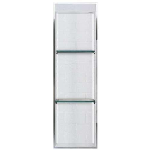Transolid Saramar 46.5-in. Recessed SaraMar Material Shower Storage Pod STVL4614-SS27