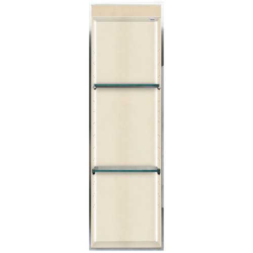 Transolid Studio 46.5-in. Recessed Solid Surface Shower Storage Pod STVL4614-SS67