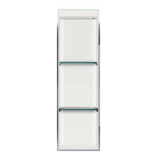 Transolid Expressions 46.5-in. Recessed Expressions Composite Material Shower Storage Pod STVL4614-SS31