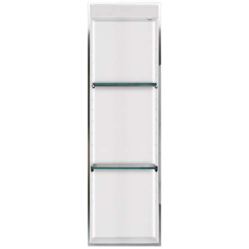 Transolid Studio 46.5-in. Recessed Solid Surface Shower Storage Pod STVL4614-SS01