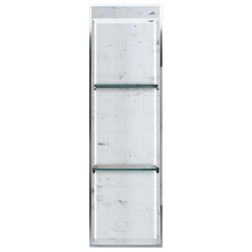 Transolid Saramar 46.5-in. Recessed SaraMar Material Shower Storage Pod STVL4614-SS47