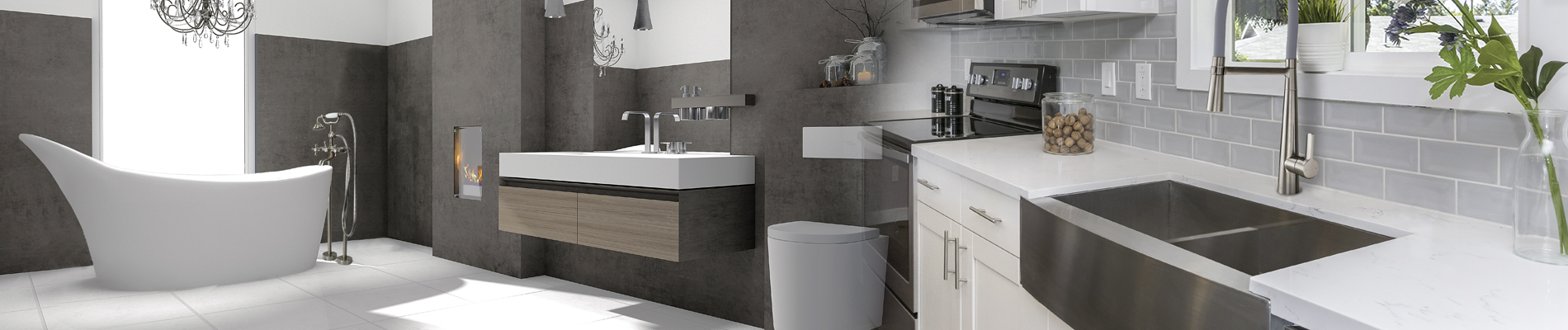 Modern Bathroom & Kitchen Design